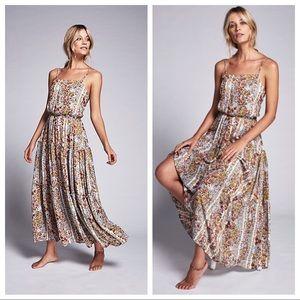 Free People Valerie Boho Tiered Maxi Dress